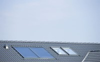 Solceller på parcelhus