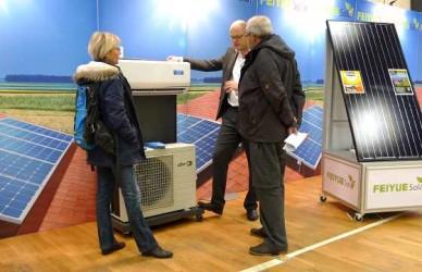 Solceller på Energimessen i Århus